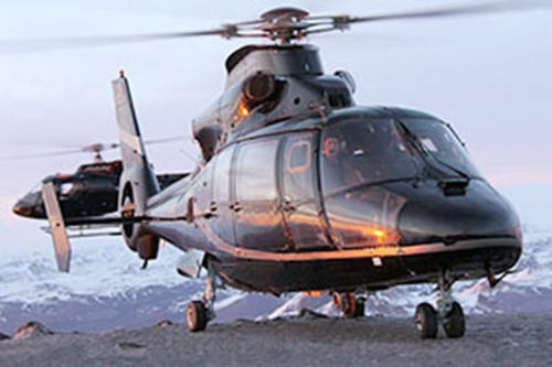 Helicopter Iceland