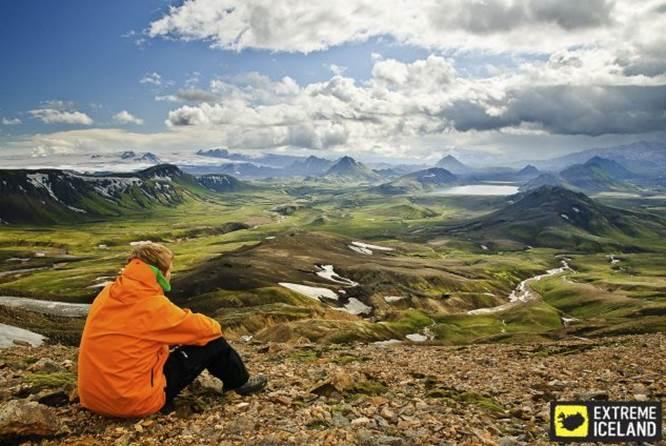 著名Laugavegur路线 - 6日冰岛徒步团