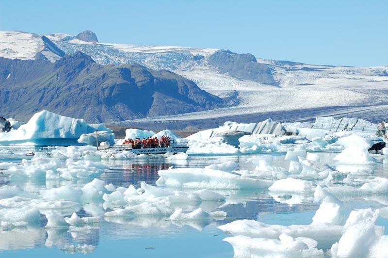 冰岛,杰古沙龙冰湖,冰湖游船