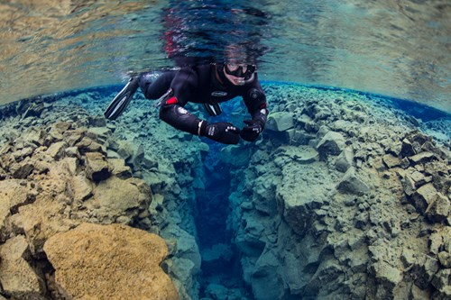 Snorkeling Iceland